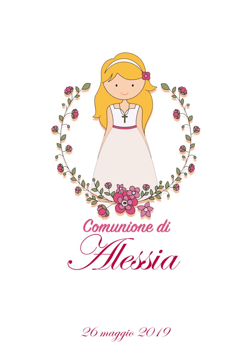 Comunione di Alessia - Invito